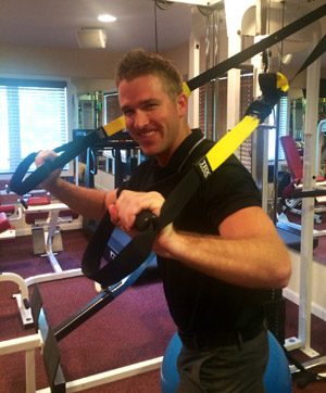 Dr. Joseph Thiem Working Out