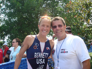 U.S. Triathlon Olympic Team Member Laura Bennett