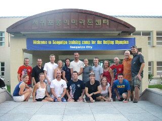 2008 U.S. Olympic Triathlon Team and Staff